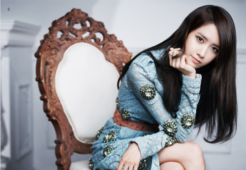 SNSD Yoona - J Look Magazine March Issue '14