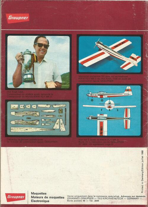 Catalogue FSP de 1968:69
