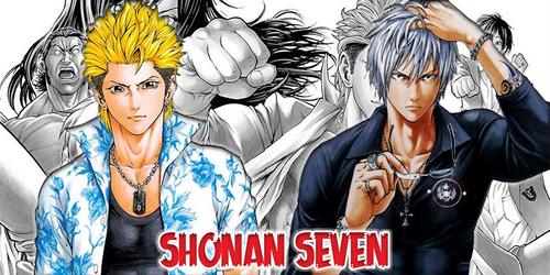 Shônan Seven T1 à T3 - Toru Fujisawa & Shinsuke Takahashi