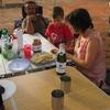 mali bamako campement kangaba 5 c\'est la chandeleur merci rose