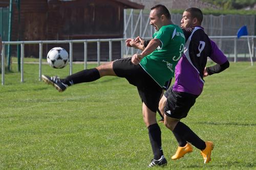 fotofoot, des, étangs, photo, de, foot, foot-ball, football, EFDE