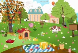 Garden - Hidden objects