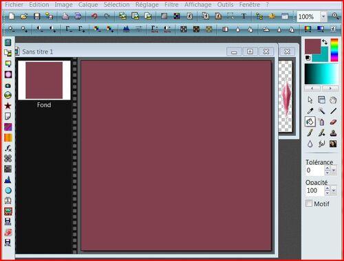 Tutoriel 35  Comment récupérer une couleur sur un autre fond