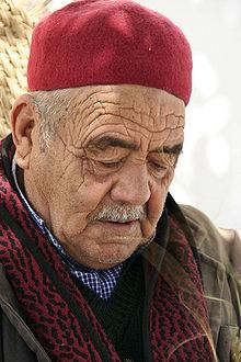 Tunisen portant la chéchia