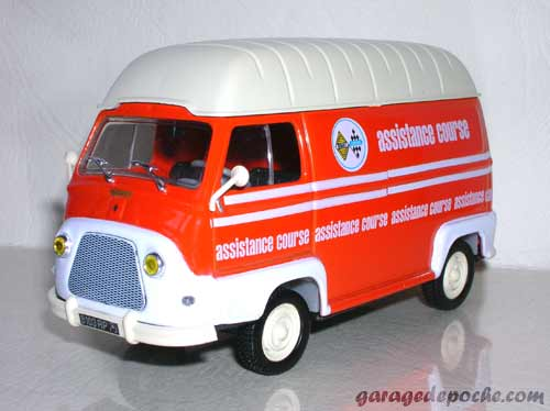 Renault Estafette d'assistance de course 1965