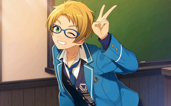 (Cheerful Glasses Boy) Makoto Yuuki CG1