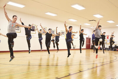 dance ballet class auditions male dancers radio city