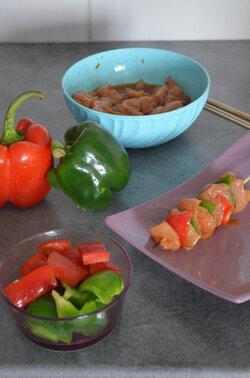 Brochette de Poulet au Miel & Sauce Soja {Chinese Version}