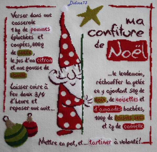 """Sal """"Ma confiture de Noël"""" - étape 8"""