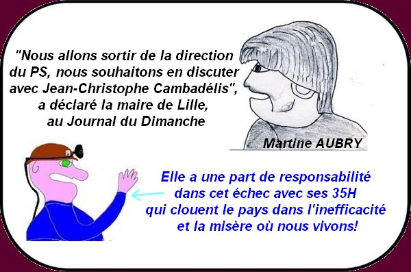 martine aubry part