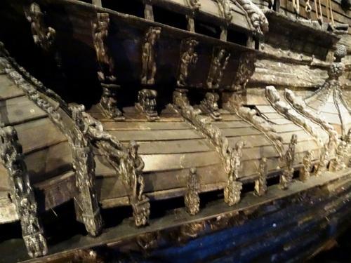 Stockholm: autour du musée Vasa, nom du bateau de guerre exposé (photos)
