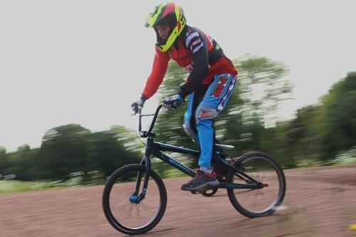 entrainement BMX Mandeure  7 octobre  2017