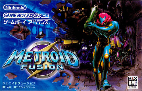 Metroid Fusion - Game boy advance
