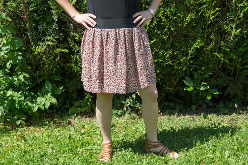 Mylène - Couture : Jupes élastiquées