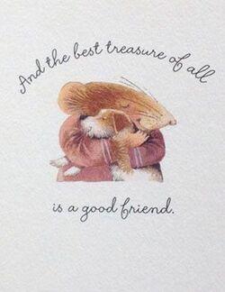 Trop beau l'amitié !!