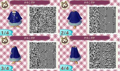 Robe 009 - rayée bleue