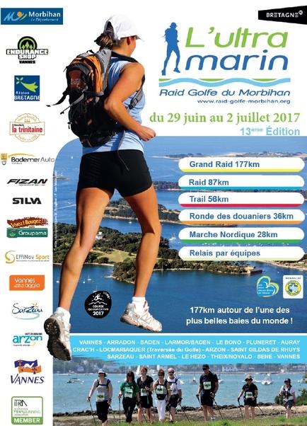 ⇒  l'Ultra Marin Raid Golfe du Morbihan 2017.