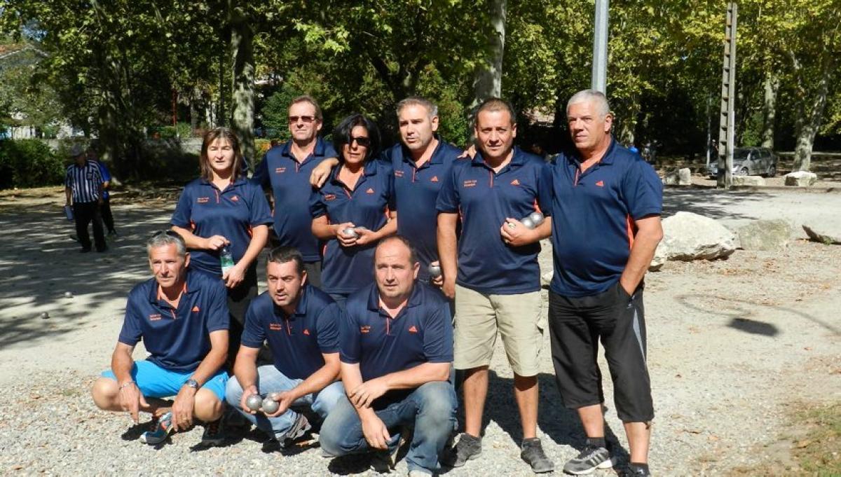 Les vainqueurs de Capdenac-gare photo DDM MC
