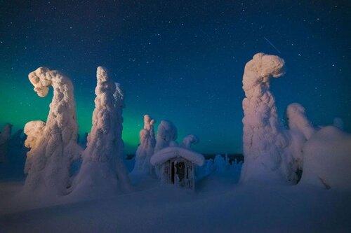 """""""Abri mystique"""" de Pierre Destribats — Finlande"""