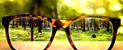 Regardez les choses avec la perspective divine
