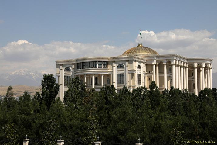 Douchanbé, capitale du Tadjikistan