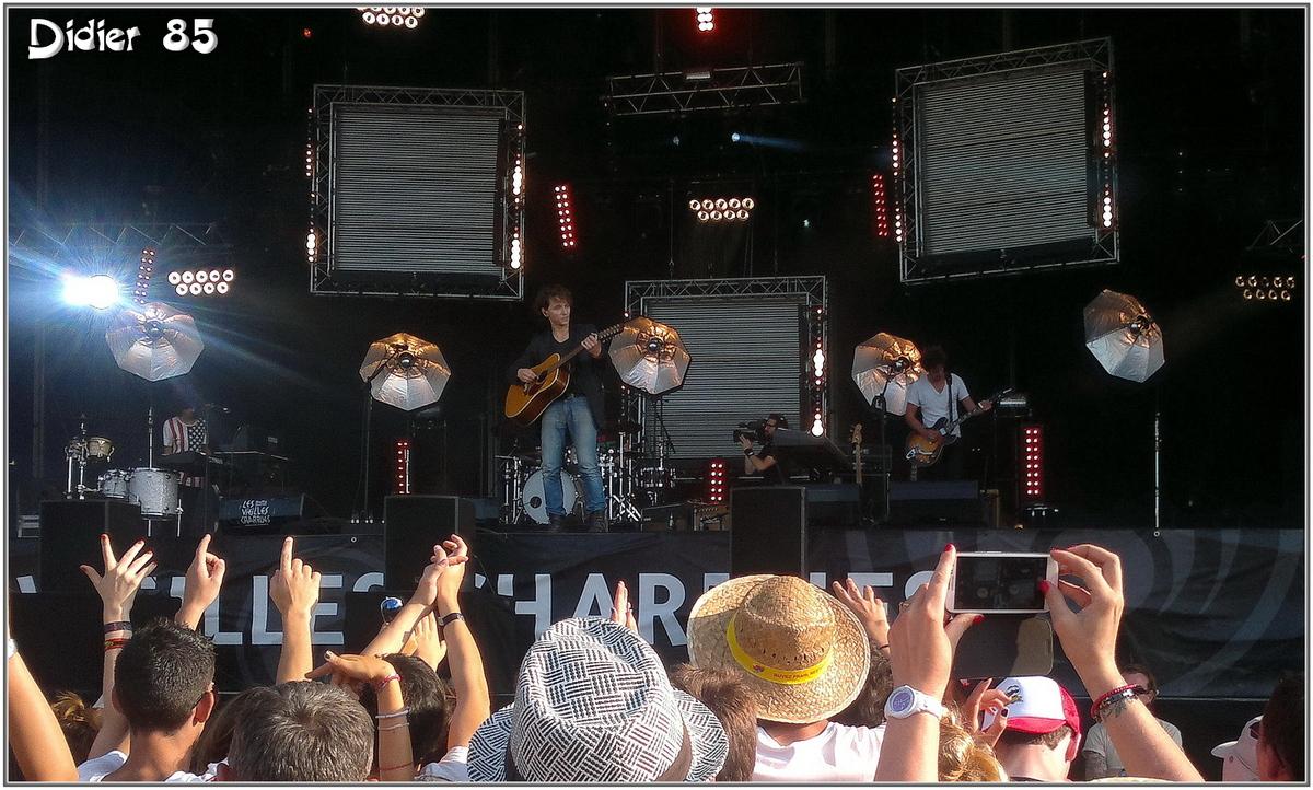 Raphaël (1) - Festival des Vieilles Charrues 2013