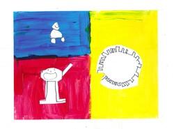 """""""Mère et enfants jouant"""" façon Picasso par les élèves de CE2, CM1, CM2"""