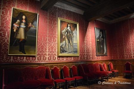 L'intérieur du chateau