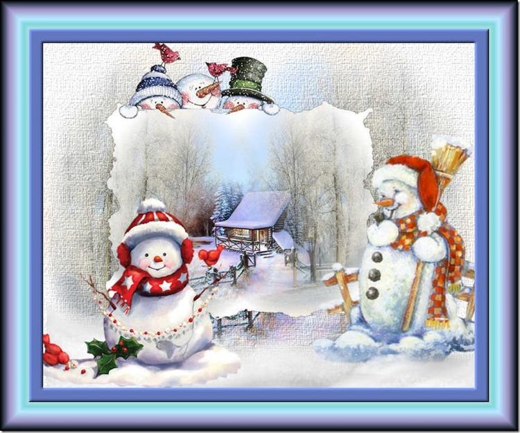 50. Un amour de bonhomme de neige
