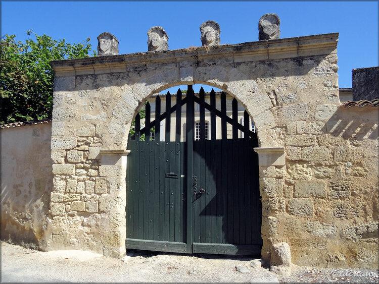 Photos d'une promenade à Bourg sur Gironde