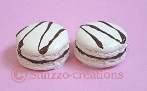 deco gourmandise macaron Sanzzo-créations dans un de nos moules en silicone- Arts et Sculpture: sculpteur designer