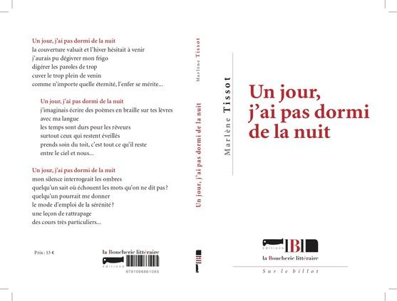 """""""Un jour, j'ai pas dormi de la nuit"""" de Marlène Tissot en souscription"""