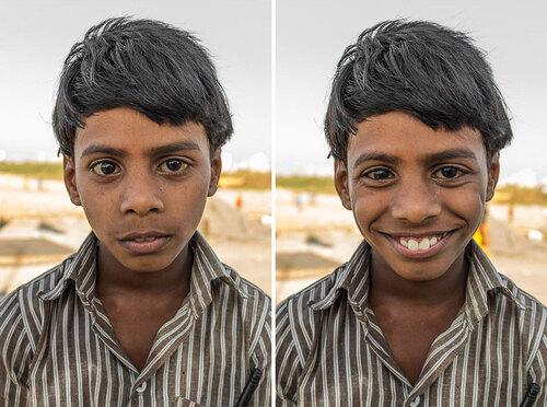 Un simple sourire change tout