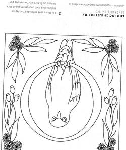 Lettrine décorée