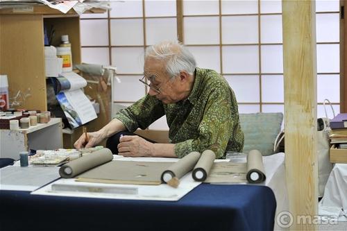 京都の舞妓の着物を作る職人 kimino geisha