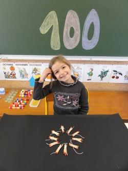 Le 100 ième jour de classe (2)