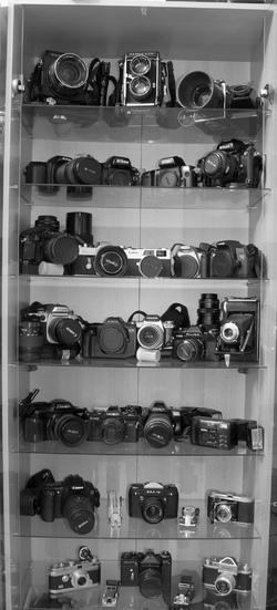 Ma récente collection d'appareils argentiques