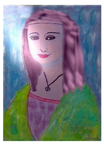 Une de mes peintures - Cunégonde