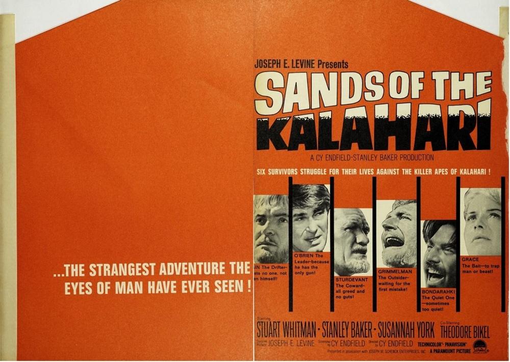 SANDS OF THE KALAHARI box office usa 1965