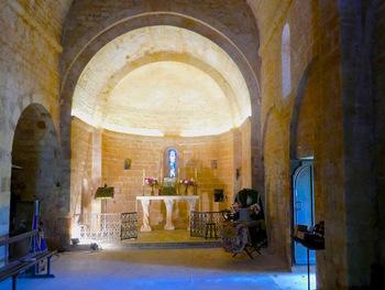 La nef de Notre-Dame de Spéluque