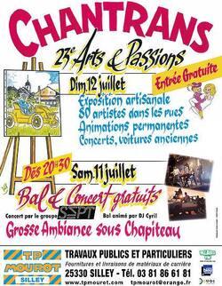 ARTS & PASSIONS - CHANTRANS