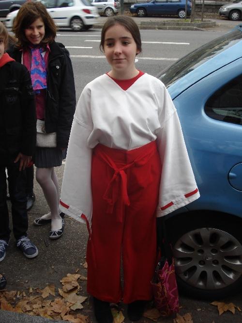 Prêtresse Shintô