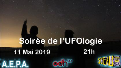 Le 11 mai 2019 - Soirée de l'ufologie dans l'Yonne 2019
