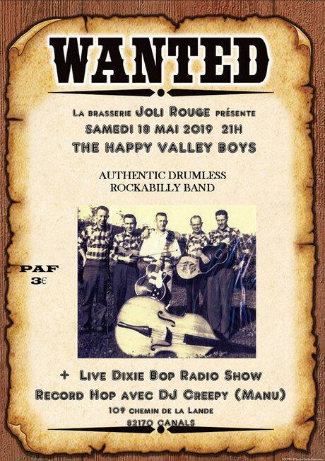 Concert Rockabilly le 18 mai