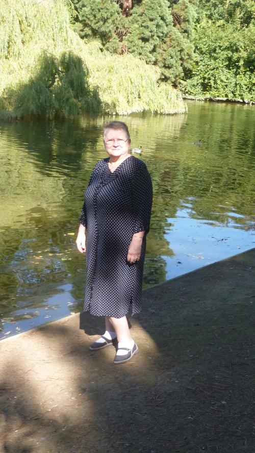 Petite promenade hier au lac de Saint Mandé chez moi
