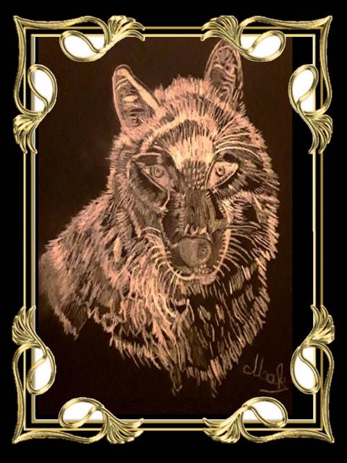 Mon dessin du loup