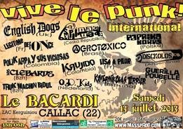 Festival Vive le Punk - Edition 2013