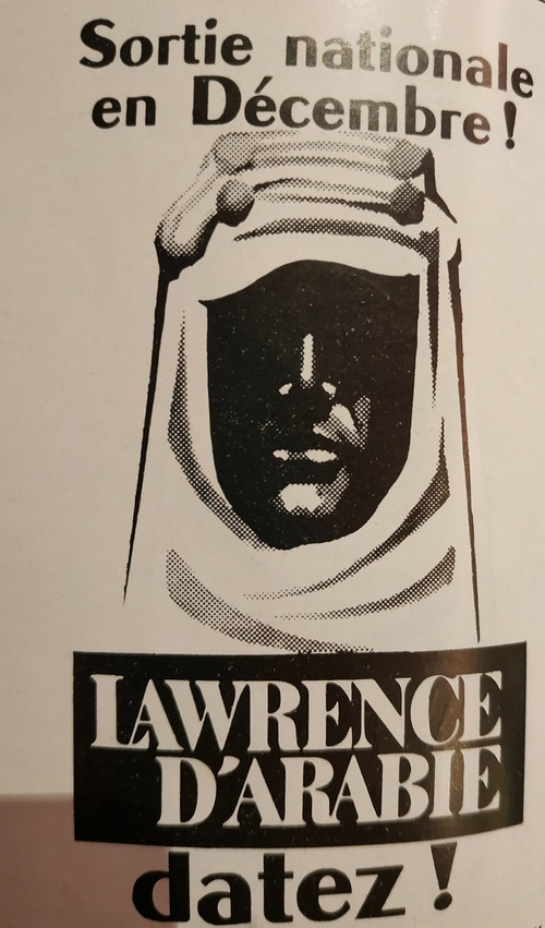 LAWRENCE D'ARABIE - PHOTO FILM FRANCAIS