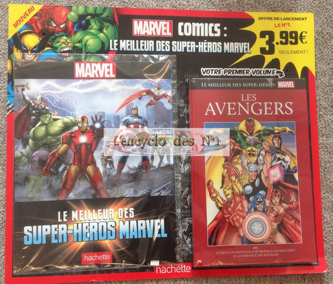 marvel comics le meilleur des super-heros marvel liste