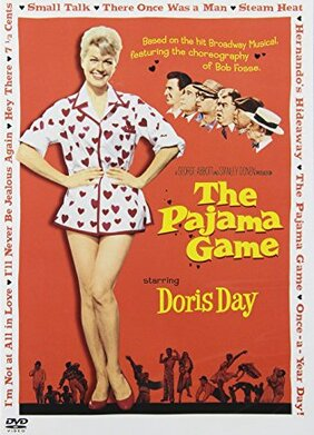 THE PYJAMA GAME POSTER DORIS DAY BOX OFFICE USA 1957